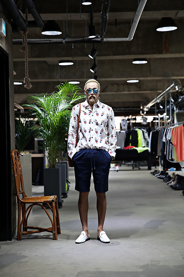 INWON LEE - Byther Shirt, Byther Loafers - Dandy Candy Style