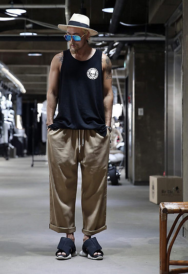 INWON LEE - Byther Tank Top, Byther Wide Pants - 2019 Summer Party Mood