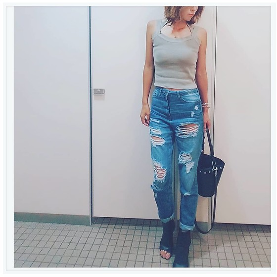 Chii - Anap Cami, Asos Jeans, New Look Bag - Jeans💙