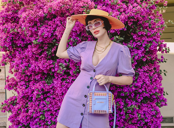Amy Roiland - Poppy Lissiman Bag, Hope Ave Dress - Lilac