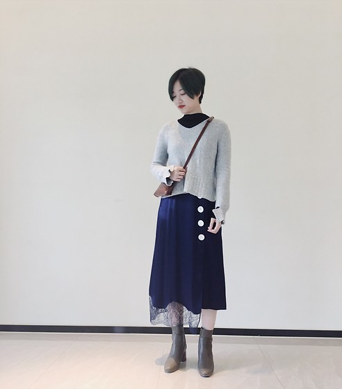 Yueming - Mu Dress, Mu Sweater - Autumn Look