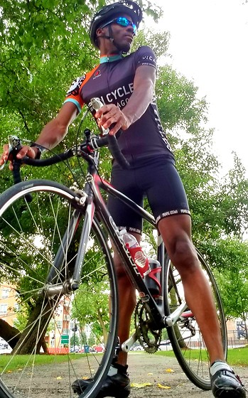 Thomas G - Pactimo Iron Cycles Chicago, Bell Bike Helmet, Italy Design Sunglasses, Pearl Izumi Bike Shorts, Giant 2003 Tcr Composite 1, Shimano Bike Shoes - Cycling is a joy,...