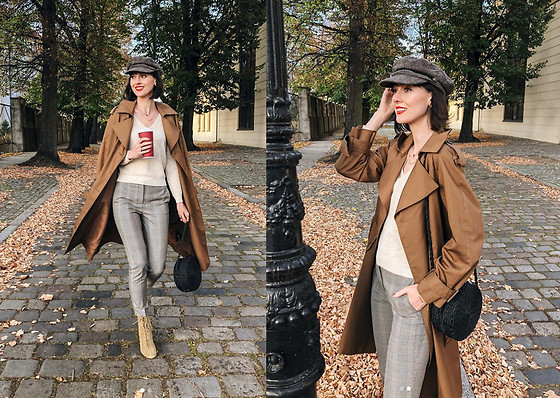 Daisyline . - Zara Shoes, H&M Coat, Mango Sweater - Fall look / IG: daisylineblog