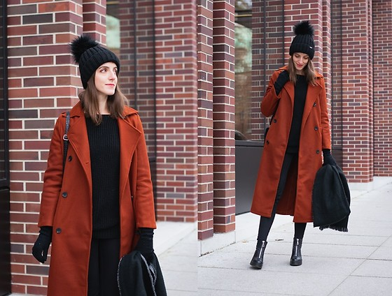 Ewa - Shein Long Double Breasted Coat - It's getting colder