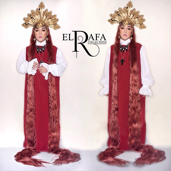 Rafa Concepcion - El Rafa Head Dress, El Rafa Jewelries, El Rafa Wig, El Rafa Dress - ⚜️ NAZARENE ⚜️