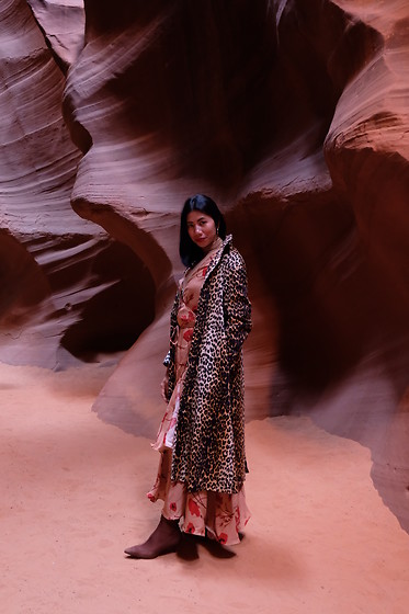 Cassey Cakes - H&M Boots, H&M Dress - Antelope Canyon