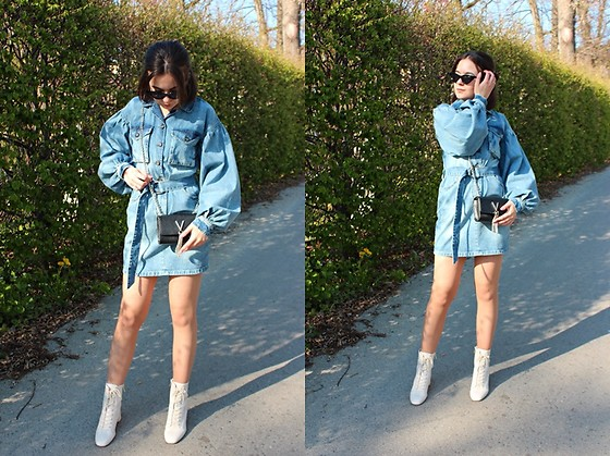 Sabina S. -  - DENIM DRESS