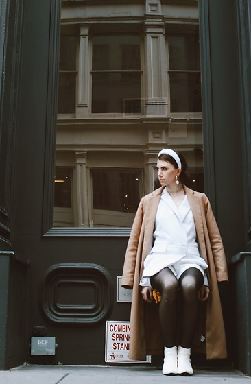 Gabrielle Arruda -  - Padded headband nyc look