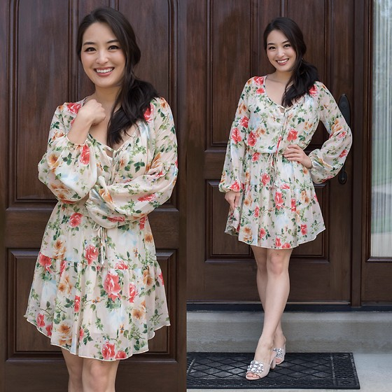 Kimberly Kong - Bella And Bloom Boutique Floral Mini Dress - The Must Have Floral Minidress