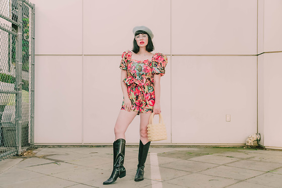 Amy Roiland - Outfit, Zara Boots - Long hair , do care!