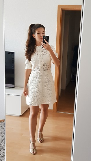 Carmen Schubert - Zara White Lace Dress - Lace Summerdress