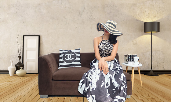 Cassey Cakes - Zara Hat, Dorothy Perkins Dress - Stay At Home