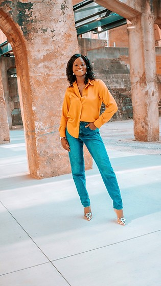 Iféoluwa Anani - H&M Lighten Up, Asos Boyfriend Jeans - Lighten UP