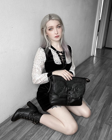 Joan Wolfie - Banned Dress, Banned Bag, Banned Boots - MAGICK // IG: @joanwolfie