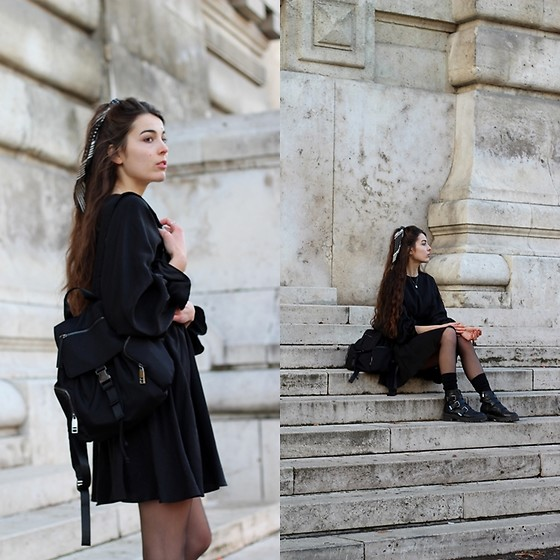 Dominika Kosik -  - Little black dress for autumn
