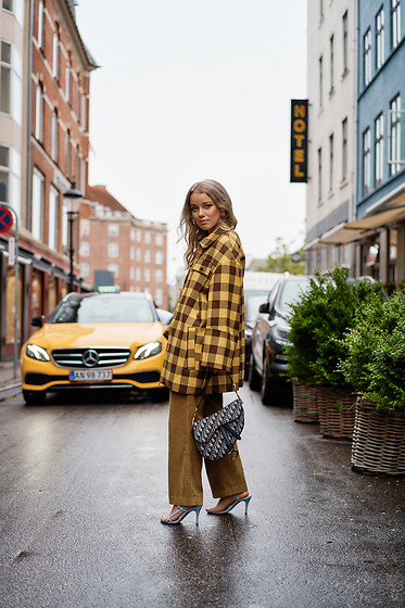 Joicy Muniz - Baum Und Pferdgarten Coat, Christian Dior Bag, Baum Und Pferdgarten Trousers, Notabene Shoes - Fall Colors