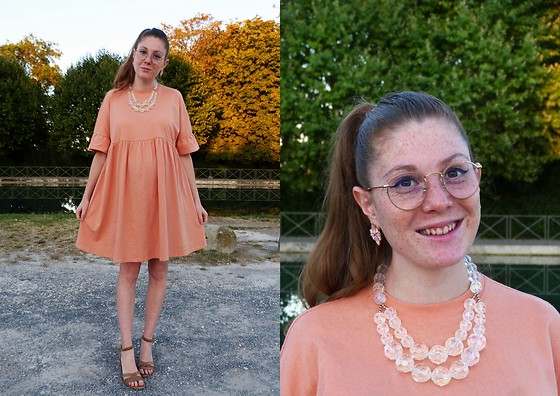 Laurielle Haze - Asos Apricot Oversized Dress - Low Place Like Home ♫