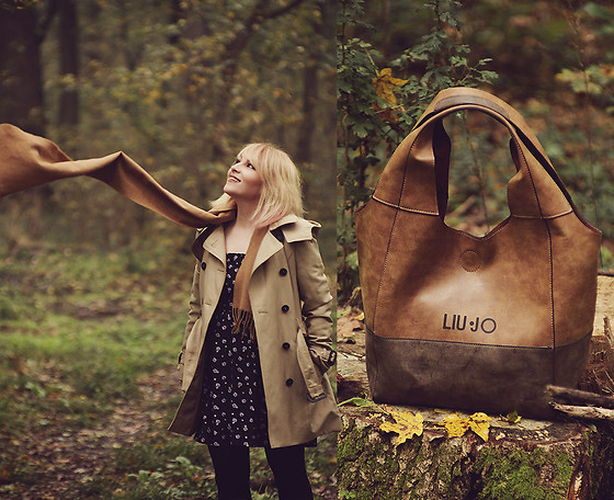 Anca Varsandan - Liu Jo Bag, Zara Trench, H&M Dress - Into The Woods