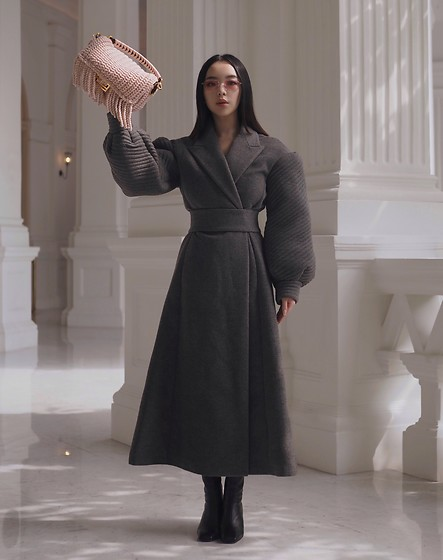Willabelle Ong - Fendi Baguette Wool Bag, Fendi Wool Coat - F is for Fendi