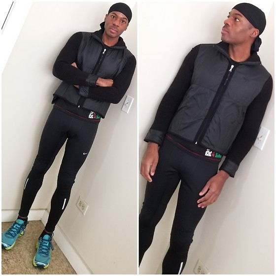 Thomas G - Durag, Nike Zip Up Fleece, Nike Running Tights, Asics Gel Cumulus 16 - Durag | Fleece | Tights