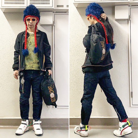 @KiD - Vintage Crazy Cap, 20471120 Jacket, Beauty Beast Digital Camouflage, 20471120 Hyoma, 20471120 Motorcycles Pants, Vivienne Westwood Cigarette Case, Reebok Ghostbusters - JapaneseTrash636
