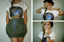 Chloe Waugh - Space T Shirt - I'll be crystalised
