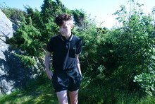 Olof Runmarker - Fred Perry PikÈ, Second Hand Shorts - Going up the contry