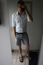 David ****** - Cos Shirt, Neil Barrett Belt, Cos Short, Neil Barrett Shoes - It´s hot ...