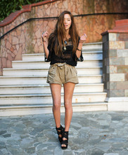 Aimee Song - Topshop Wisteria Wedges - In My Own Perfect World