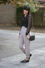 Romyane Romagnoli - American Apparel Trousers, Chanel Bag - A Sunday Smile