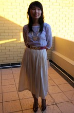 Cecylia Kee - Vintage Belt, Vintage Heels, Vintage Necklace - A Salute to the Setting Sun