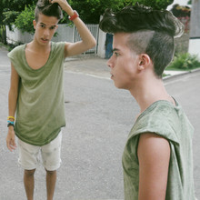 Jesus Ramirez - Zara T Shirt, Self Made Shorts - Http://anchordeer.co.nr/