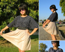 Melanie Likes - Vintage Top, Vintage Skirt - New Beginnings