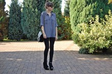 Patrycja R -  - GREY POCKET SHIRT