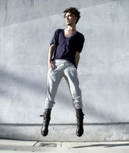 J. Sandoval Gomez - Forever 21 Sweats, American Apparel Oversized T, Zara Boots - Some Call Them Shadows