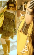 Mika Dionglay - Macy's Dress, Jcpenny Boots, Aldo Yellow Bag - TAke AwAy my feArs.
