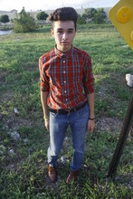 Norlyn Ricardo - Target Plaid Button Down, Levi's® Jeans, Giorgio Birtini Cute Shoes - Aren't i the cutest cowboy in the eatcoast?