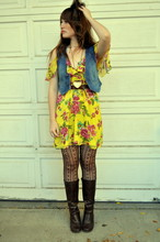 Amy Nelson - Forever 21 Dress, Vintage Boots - Gentle on my mind