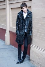 X O - Diesel Leather Trench, Fred Perry Polo, Diesel Jeans, Marc By Jacobs Chelsea Boots - GIMME DANGER