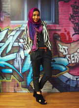 Yuna Zarai - River Island Pleated Pants, H&M Cropped Jacket, Jeffrey Campbell Wedges - Coke shoot episode #1