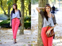 Melanie Winter - H&M Top, American Apparel Pant, New Look Shoes - BOHEMIAN BANDEAU