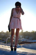 Cali Vintage - Family Affairs Dress, Jeffrey Campbell Platform Mary Janes - Late summer days