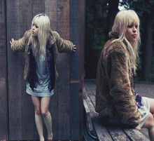 Chanel C. - Fur, Savers Flannel, Rvca Dress - We all have stories we won't ever tell.