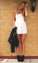 Melissa Overgaard - Have2have.Se Shoes, Gina Tricot Dress, Topshop Jacket - Miss the summer