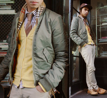 Denny Balmaceda - Marc By Jacobs Bomber Jacket -  Soldier of Love