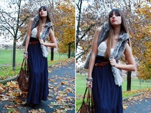 VERONICA FALCO - Burberry Bag - When the long skirt meets the autumn