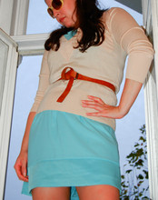 Kay K. - Zara Belt, Sinequanone Jumper, H&M Dress, Emilio Pucci Sunglasses - Do you wana take me to 60's? by Framedjumpers