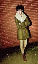 Elvin Feng - Burberry Coat, Asos Trousers, Yves Saint Laurent Boots - ~MILITARY WINTER~