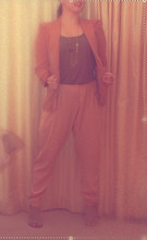 Kay K. - Zara Blazer, Topshop Pants - Camel to ride....Camel to wear...