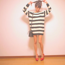 Natsu . - Topshop Shoes - I love red shoes